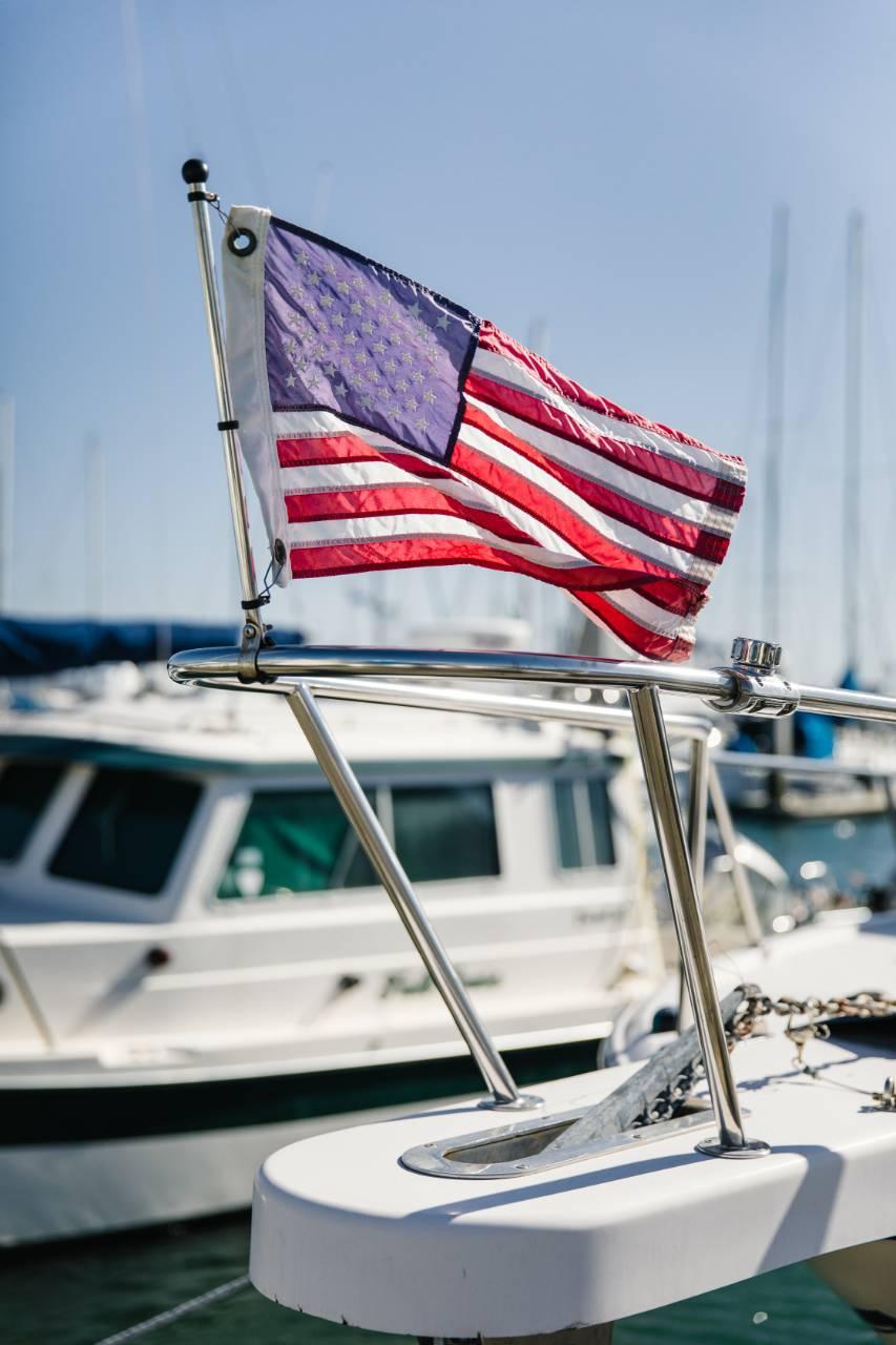 Boat Flag | Suzanne Polino REALTOR
